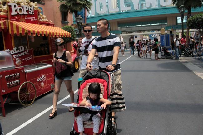 Trip to Universal Studios Singapore