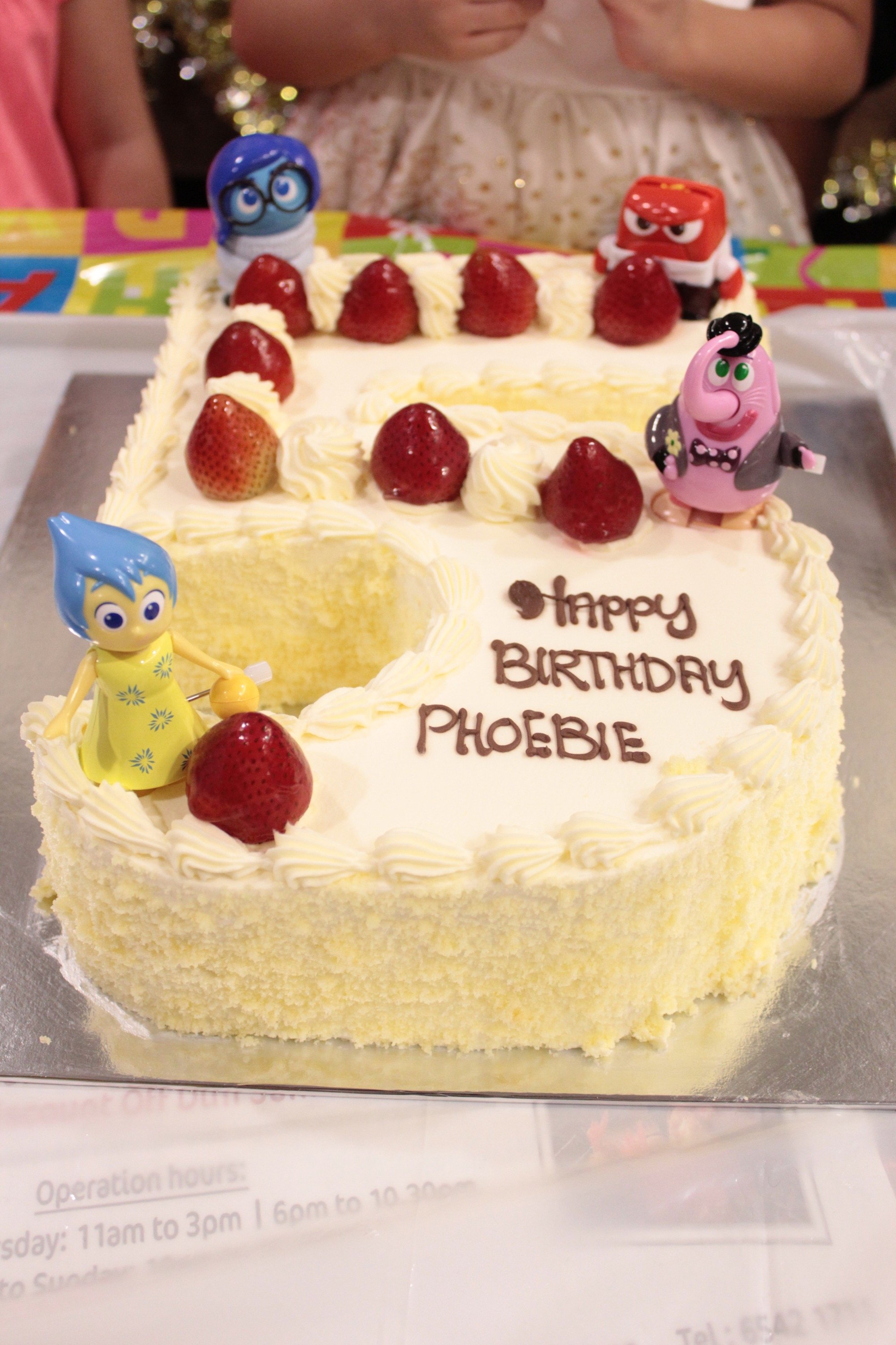 Magnificent Phoebies 5Th Birthday The Cake Mummy Priscilla Funny Birthday Cards Online Elaedamsfinfo